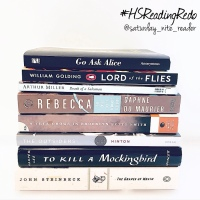 Reading Challenge: High School Reading Redo