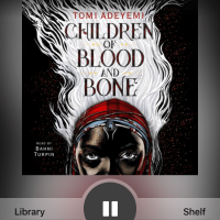 Audiobook Review: Children of Blood and Bone by Tomi Adeyemi, narrated by Bahni Turpin