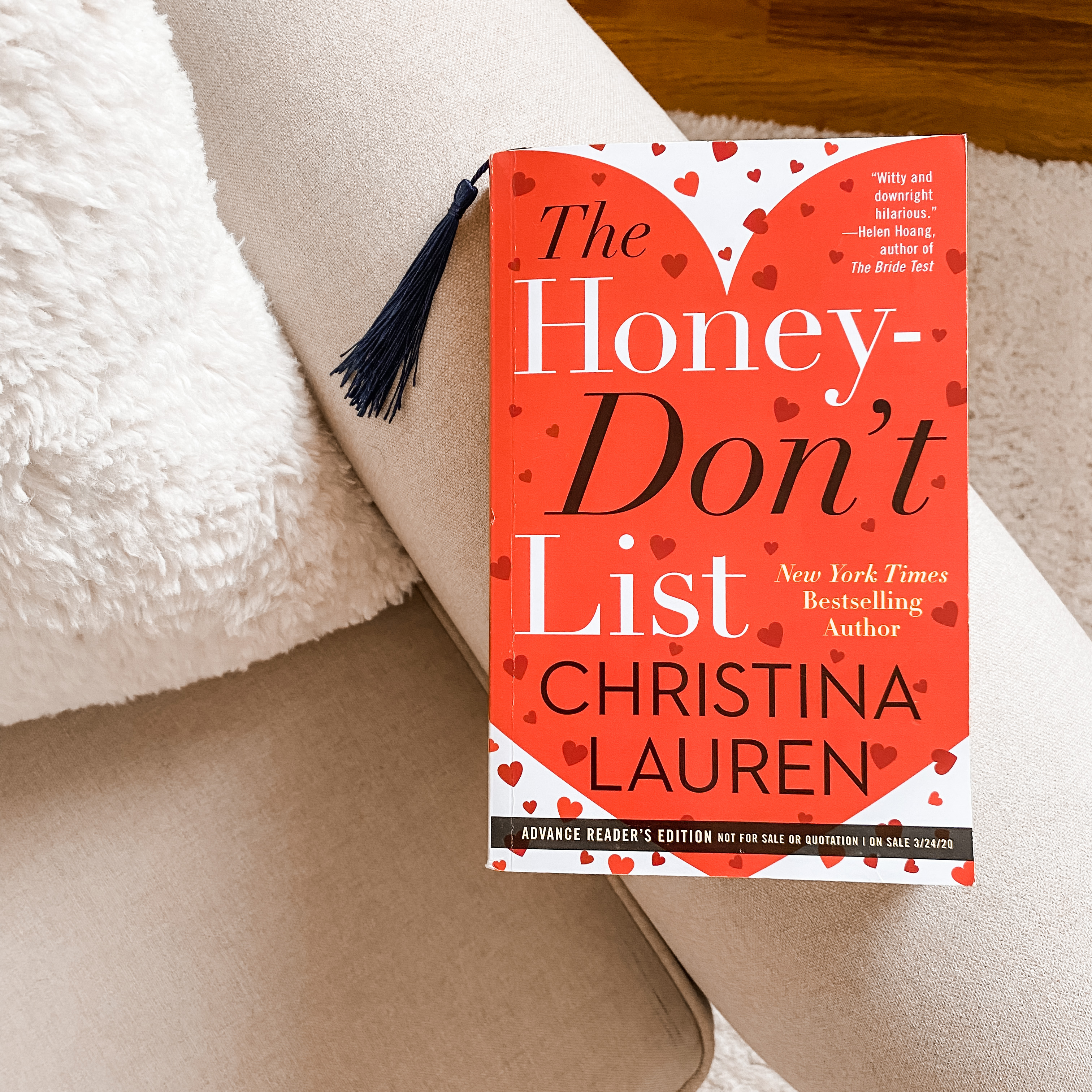 The Honey Dont List Book Cover